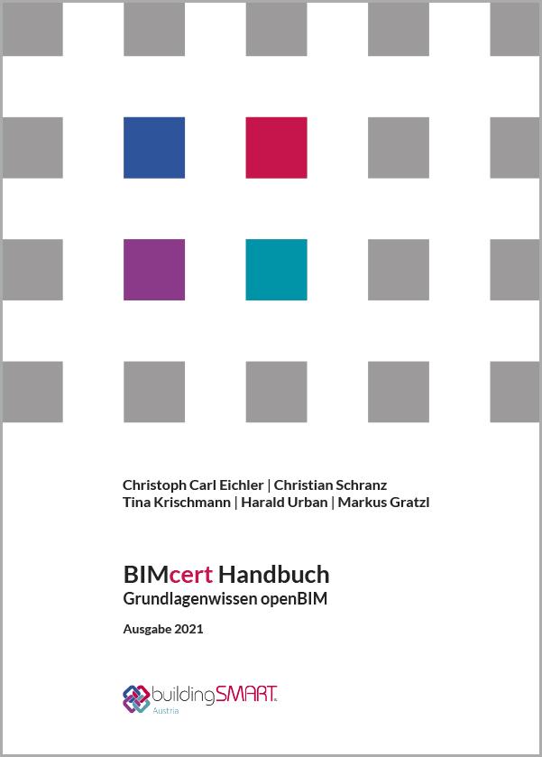BIMcert Handbuch - Buchtitel