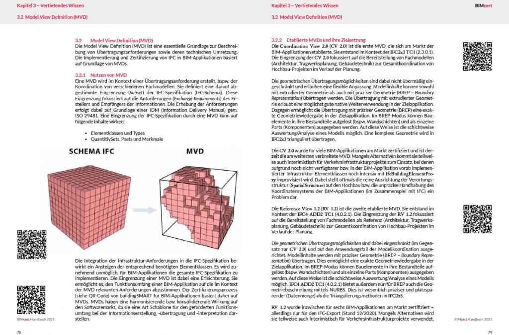 Auszug aus dem BIMcert Handbuch - Kapitel Vertiefendes Wissen